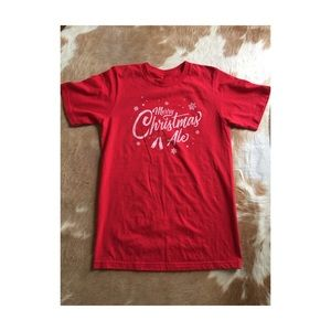 Tops - NWOT Great Lakes Christmas Ale tee